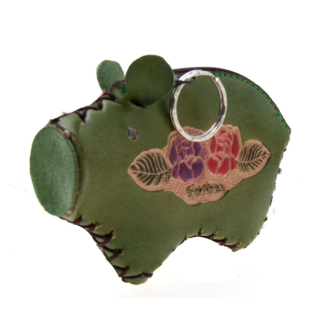 Fashion Keyring Little Piggy Zipper Wallet Coin Purse Ladies Purse Key Chain
