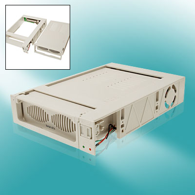 "3.5"" Mobile Hard Drive Disk HDD Removable Rack w Slide Switch"