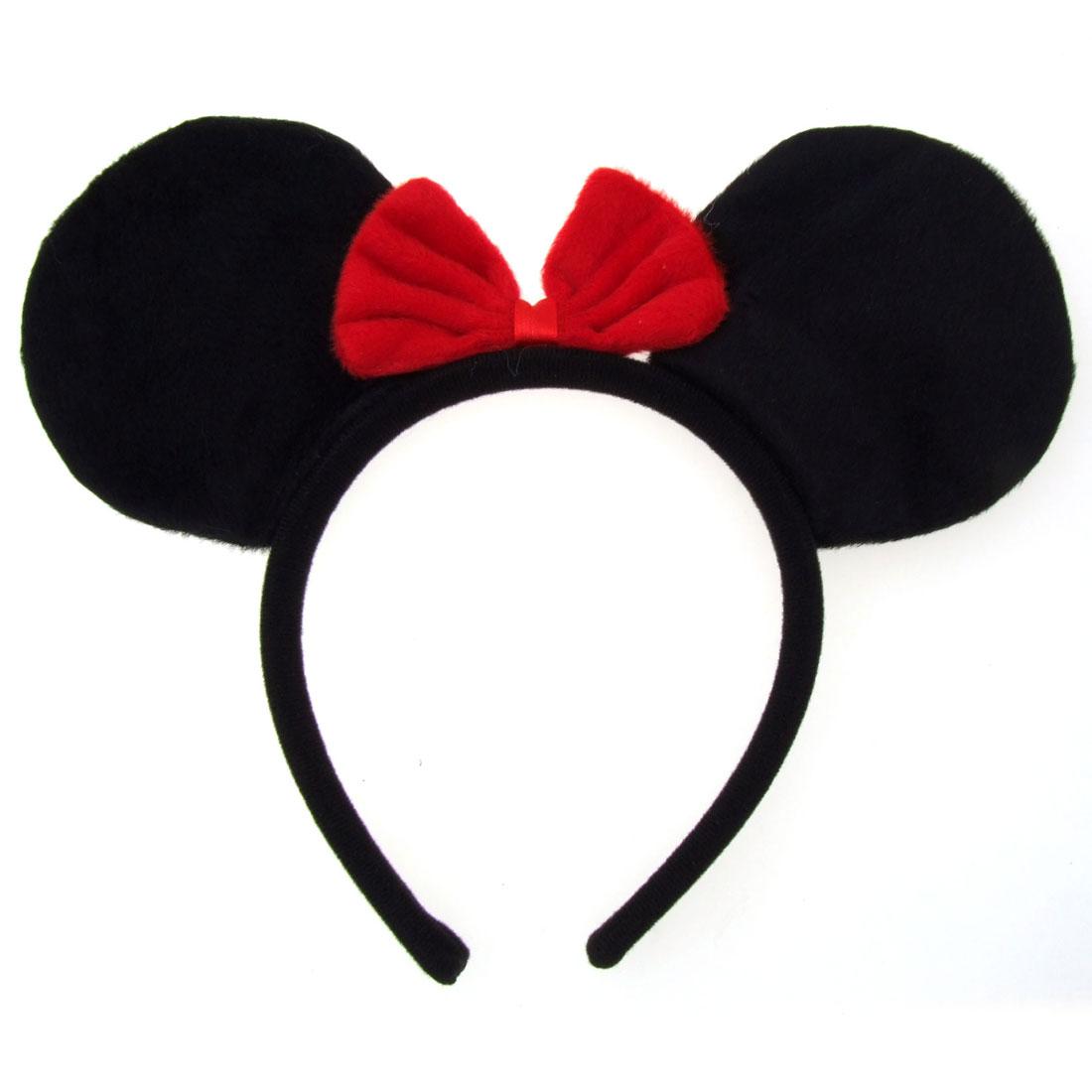 Lassock Mickey Mouse Halloween Hair Bow Headwear Barrette