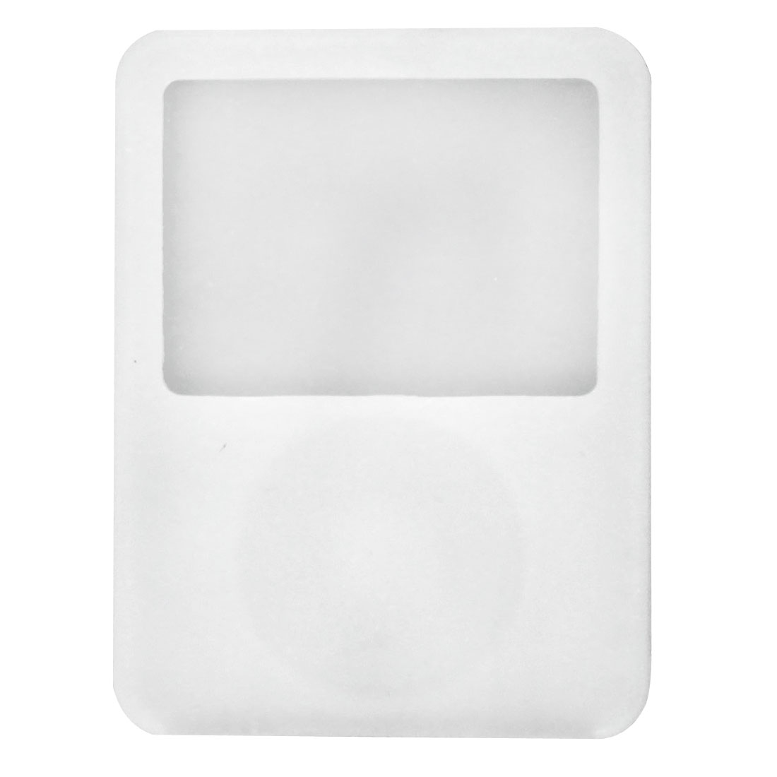 White Silicone Case for iPod Nano 3G