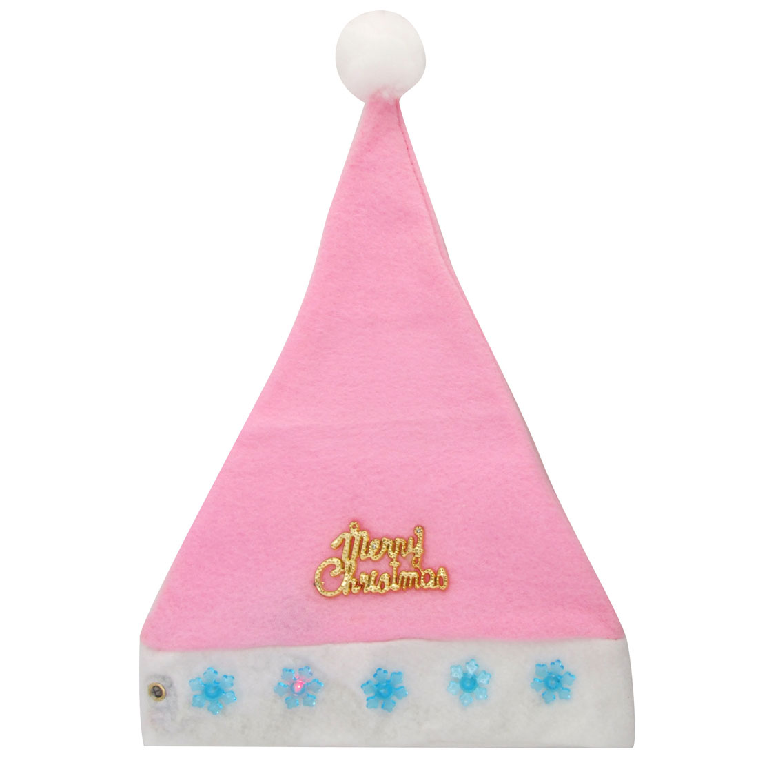 X'mas Christmas Santa Claus Hat w/Flashlight