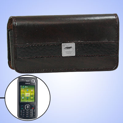 Faux Leather Case Holder for Nokia N70