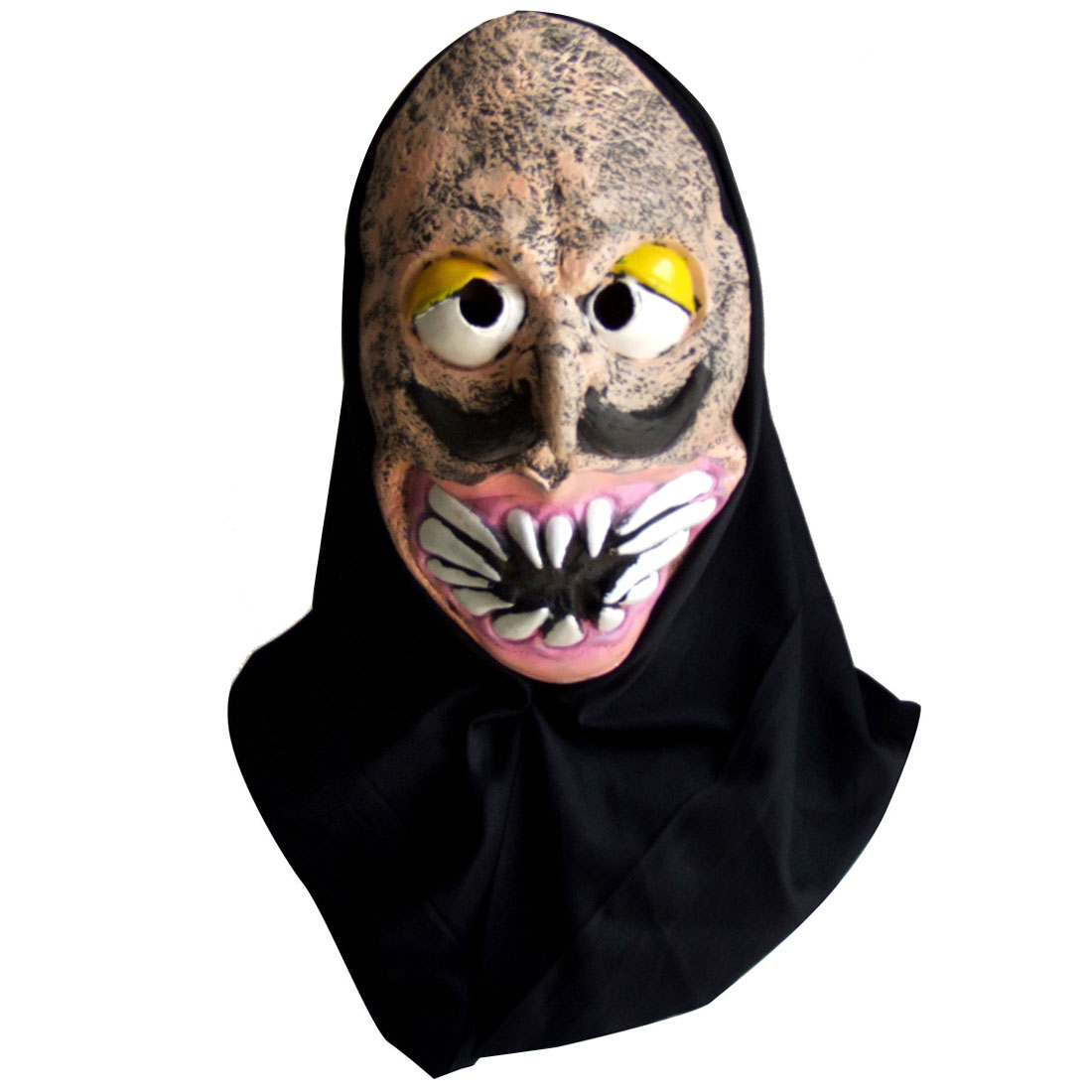 Horrible Skull Face Latex Halloween Mask