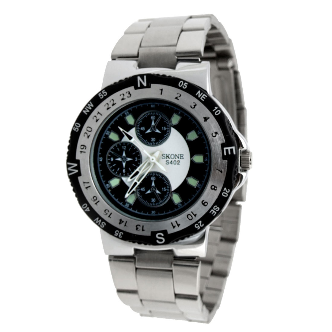Fashion Jewelry Steel Men's Quartz Watch