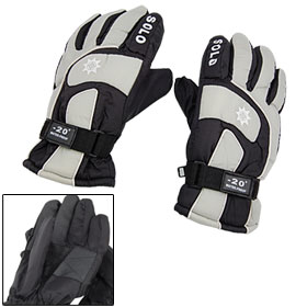 Sportwear Skiing Snowboard Nylon Winter Snow Gloves Size M