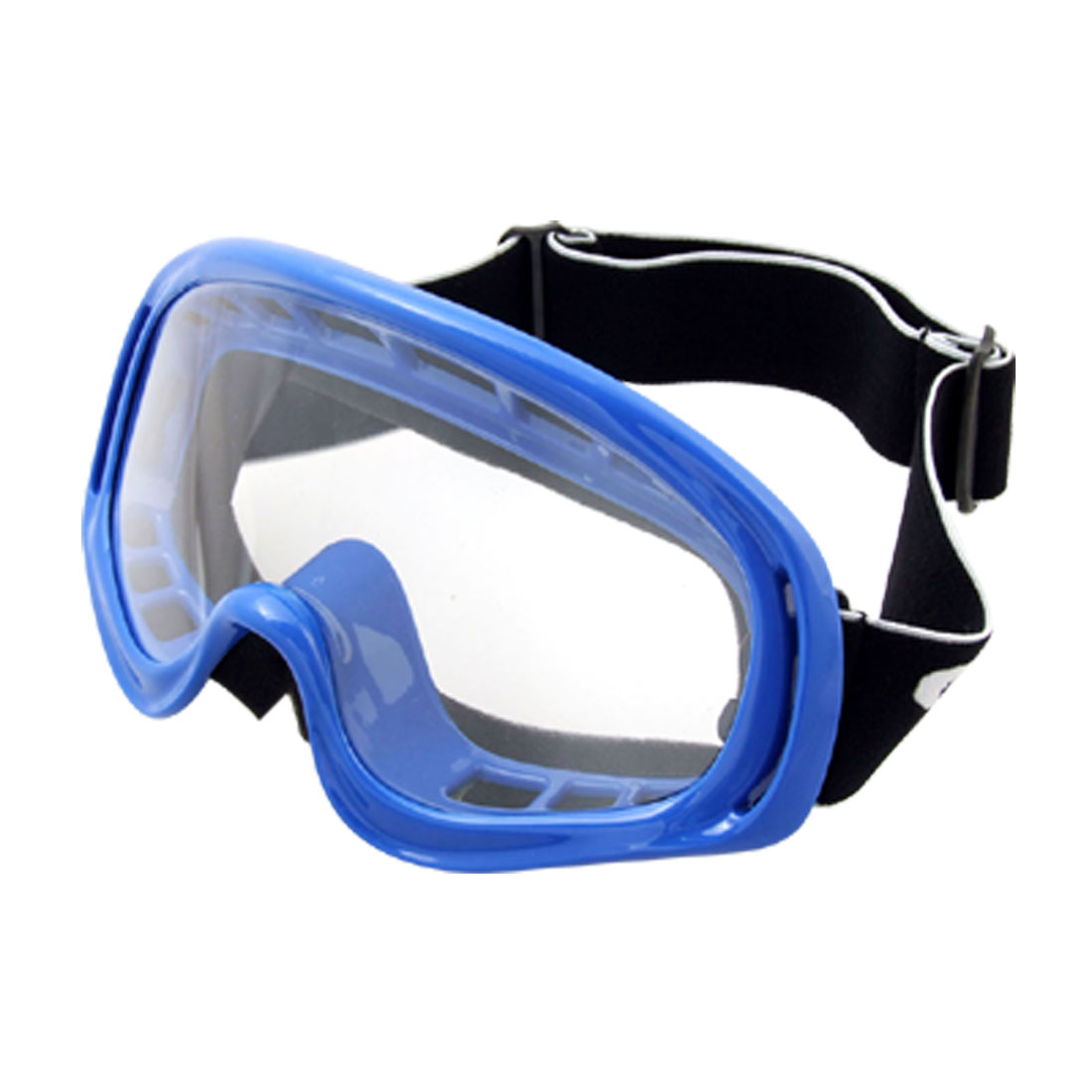 Vogue Blue Frame Racing Sports Goggles Glasses