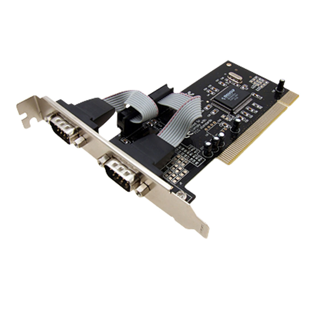 PCI RS232 Serial Port To Two COM Ports PCI Card