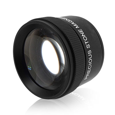 Precision Optical Powerful Dual Lens Magnifier Magnifying Glass