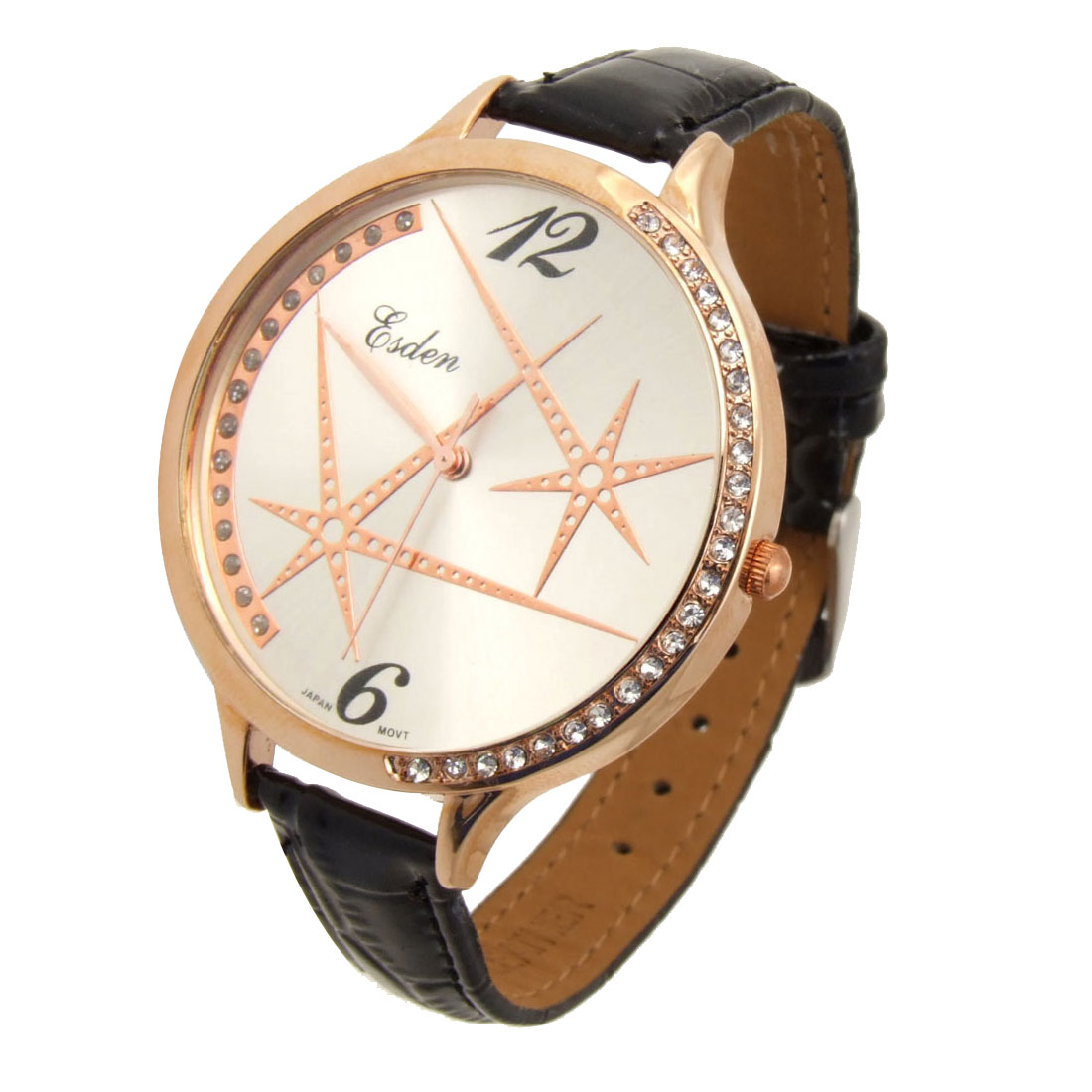 Fashion Jewelry Universe Quartz Wrist Ladies Fashion Watches White Case