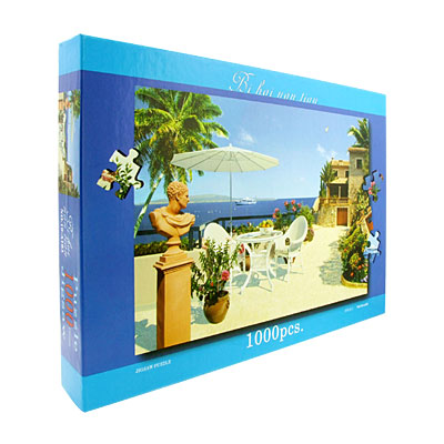 Toys- Educational Mediterranean Jigsaw Puzzles DIY Deck Designs