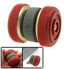 Professional Cutter Sharpener Abrader With Two Grinding Wheels Red