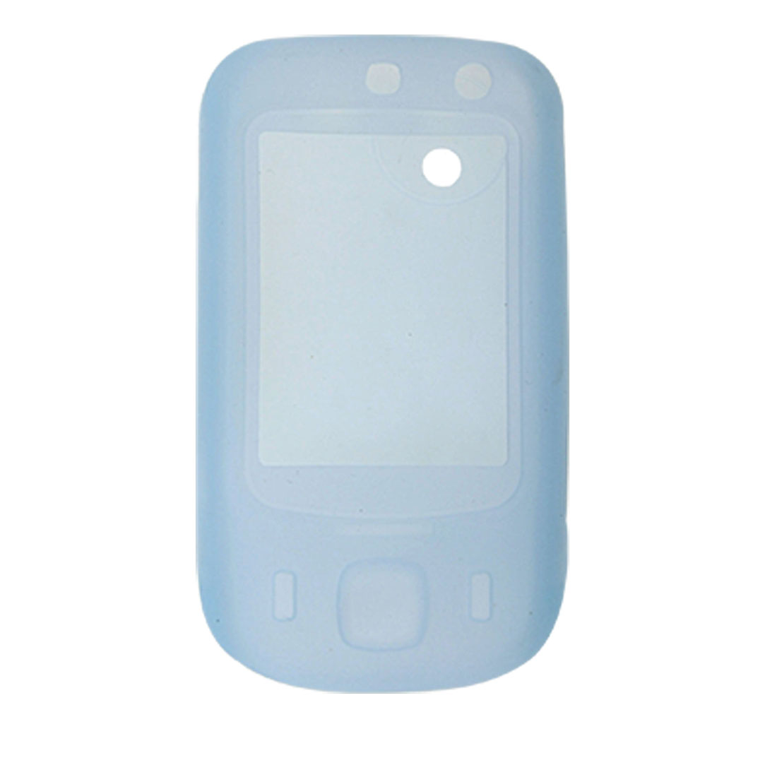 Baby Blue Silicone Case For HTC Touch Dual