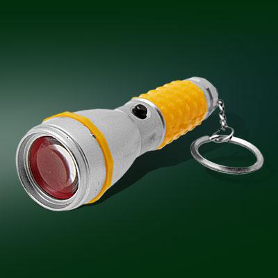 Super Mini LED flashlight Key Ring Hand Torch