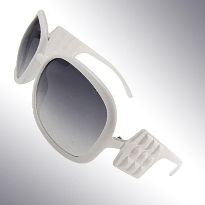 Audrey White Fashion Eyewear Sunglasses