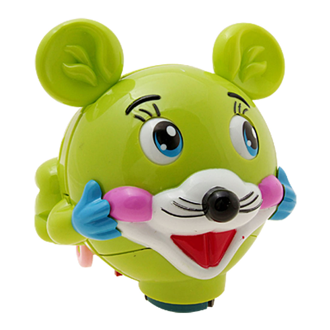 Green Singing Cartoon Fairylike Cute Mouse Kids Toy