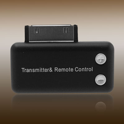 Tiny Wireless FM Transmitter & Remote Control for iPod Nano
