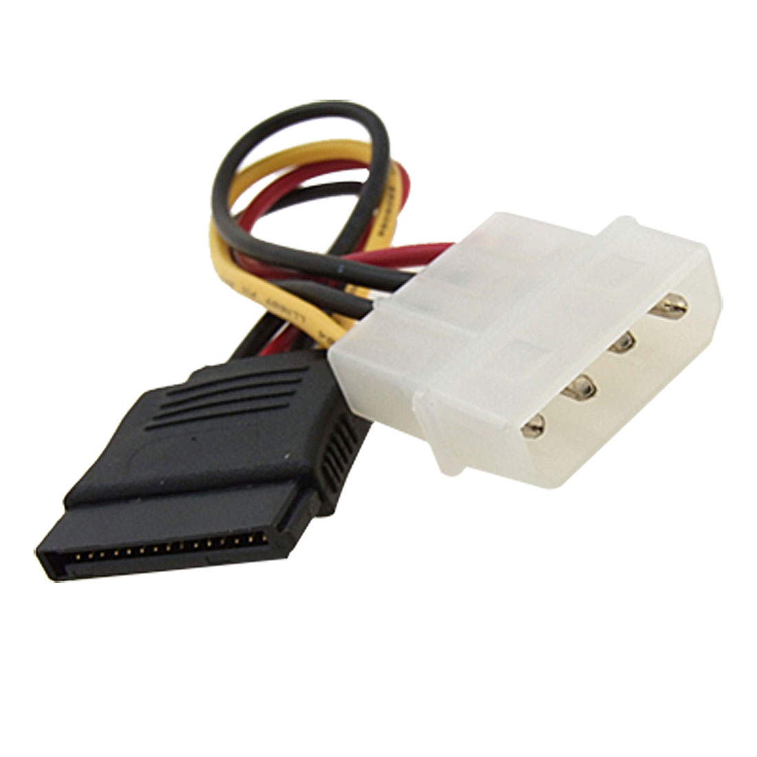4 Pin IDE to 15 Pin Serial SATA Power Cable Adapter