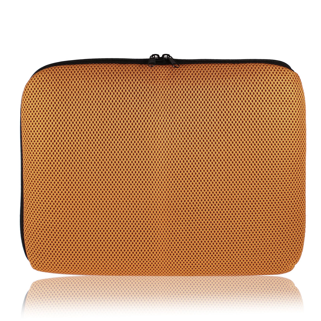 "13.3"" Computer PC Laptop Notebook Holder Sleeve Orange Mesh Carrying Case Bag"