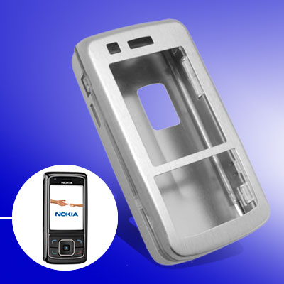 Popular Silvery Super Slim Aluminum Protector Hard Case for Nokia 6288