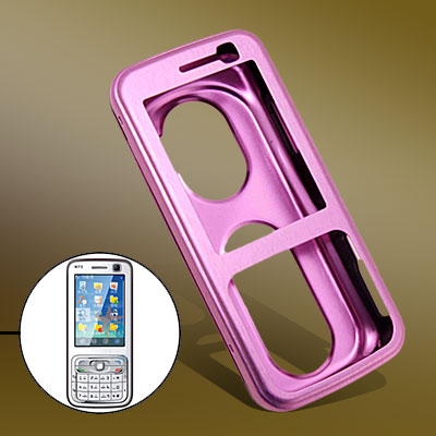 With Hole Aluminum Protector Hard Case for Nokia N73