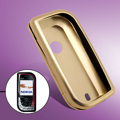 High Quality Golden Aluminum Protector Hard Case for Nokia 7610
