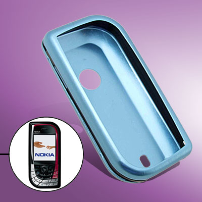 Protector Hard Blue Super Slim Aluminum Case for Nokia 7610
