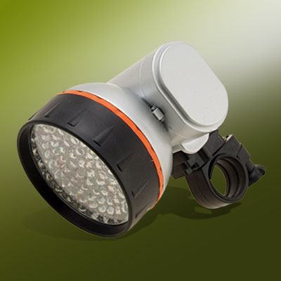 76 LED Bicycle Torch Head Flash Light Bike Lamp