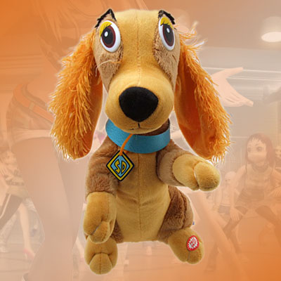 Happy Valentine Funny Singing Dog Toys