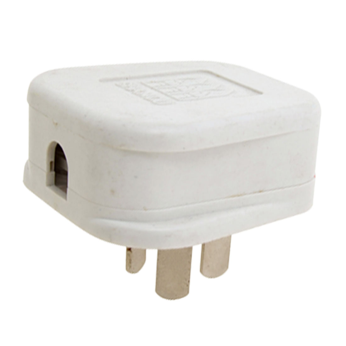 Three Flat Pin Wall AC Power Adapter AU Plug White