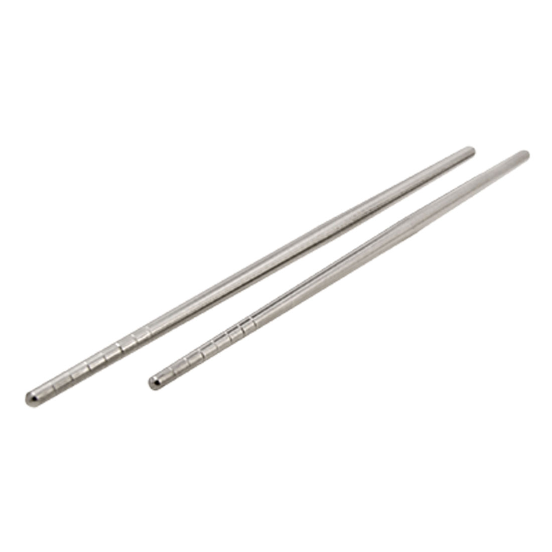 Stainless Steel Chinese Food Chopsticks Silvery Color