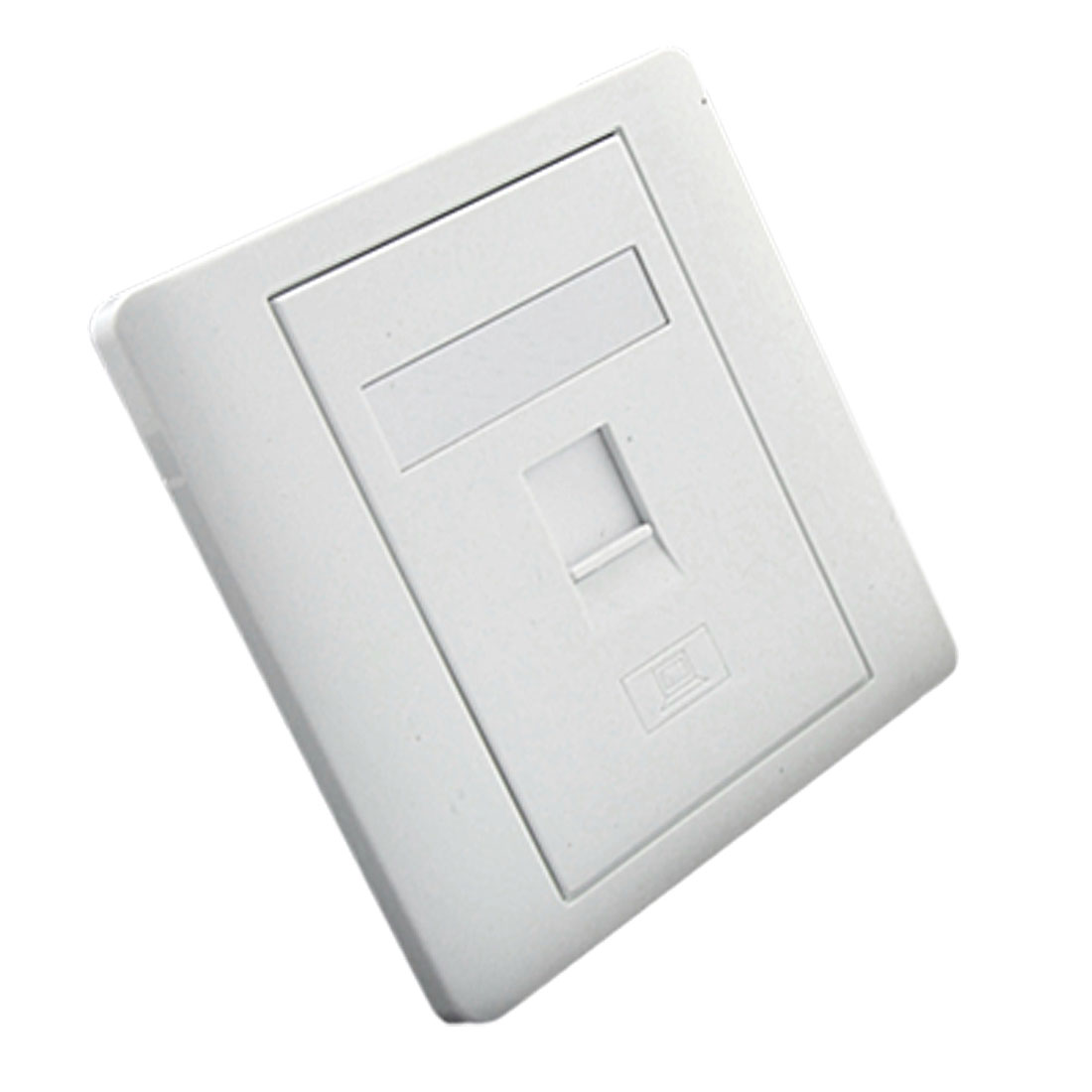 Single 1 Gang Cat5 RJ45 Socket Outlet Wallplate Wall Plate Panel