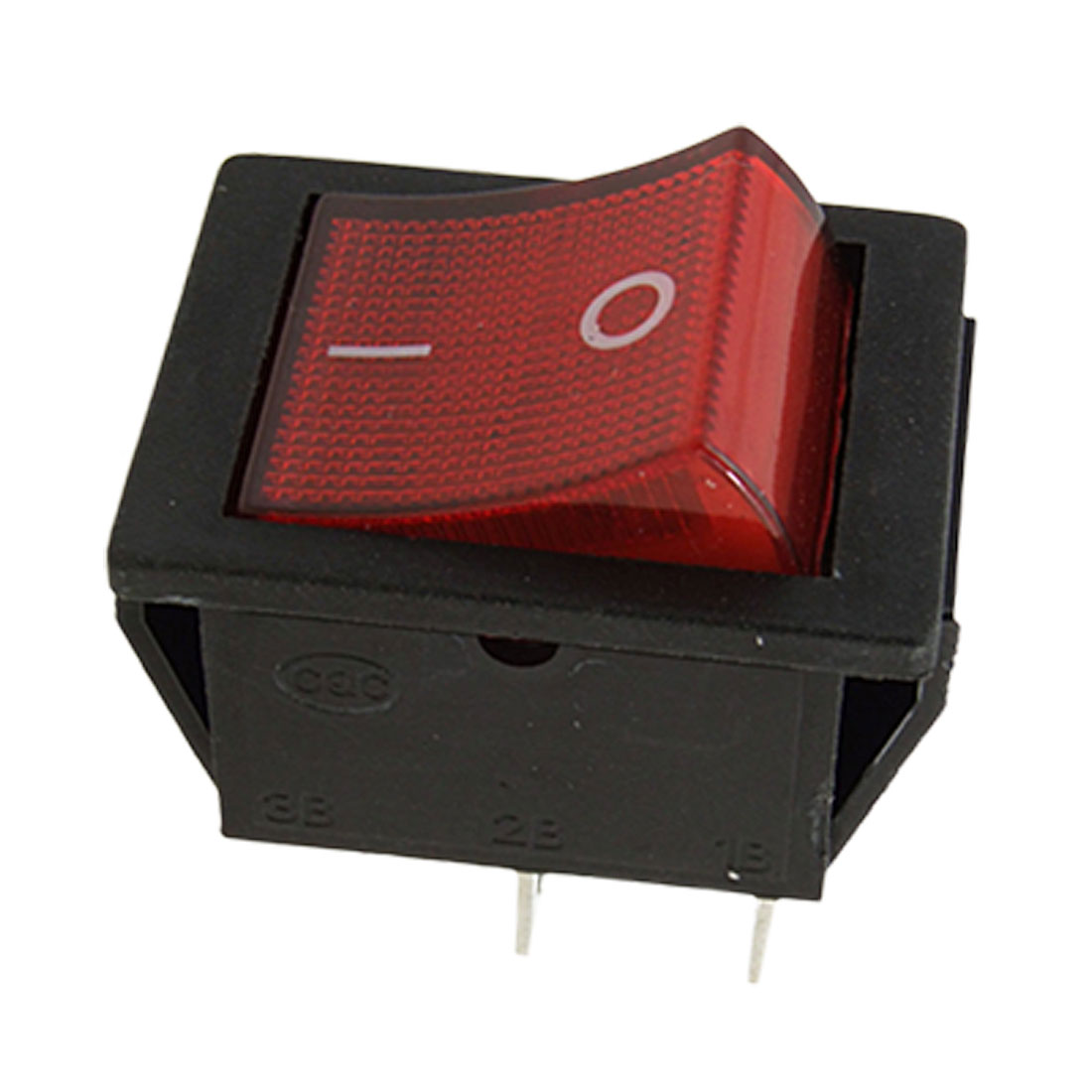 Red Light Illuminated 4 Pin DPST ON/OFF Boat Rocker Switch 8A/250V 15A/125V AC