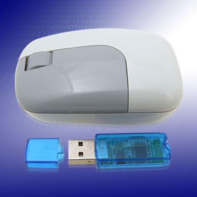Wireless bluetooth Mouse + USB bluetooth Dongle Adapter