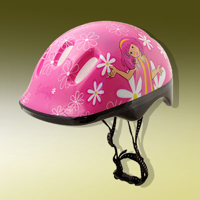 Pink Skateboard Motorcycle Roller-skating Protective Helmet