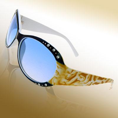 Crystalline Blue Fashion Eyewear Lady Sunglasses