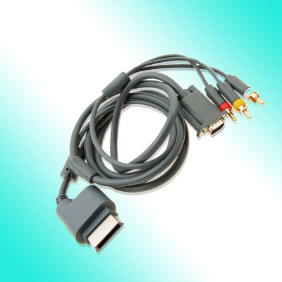 Brand New RCA VGA HD AV HDTV Cable for Xbox 360