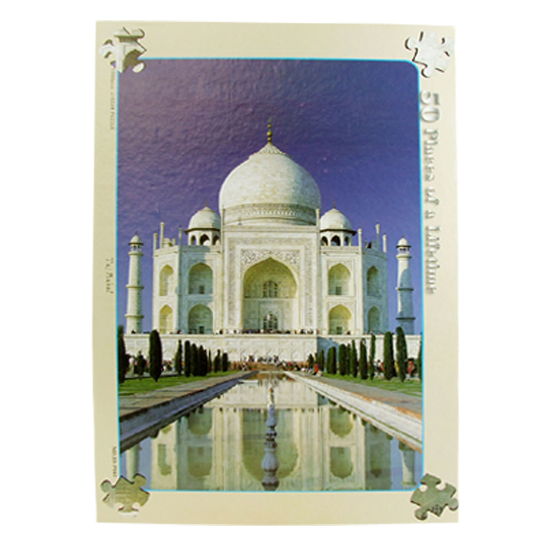 Toys- Educational 1000 Piece Indian Taj DIY Jigsaw Puzzles