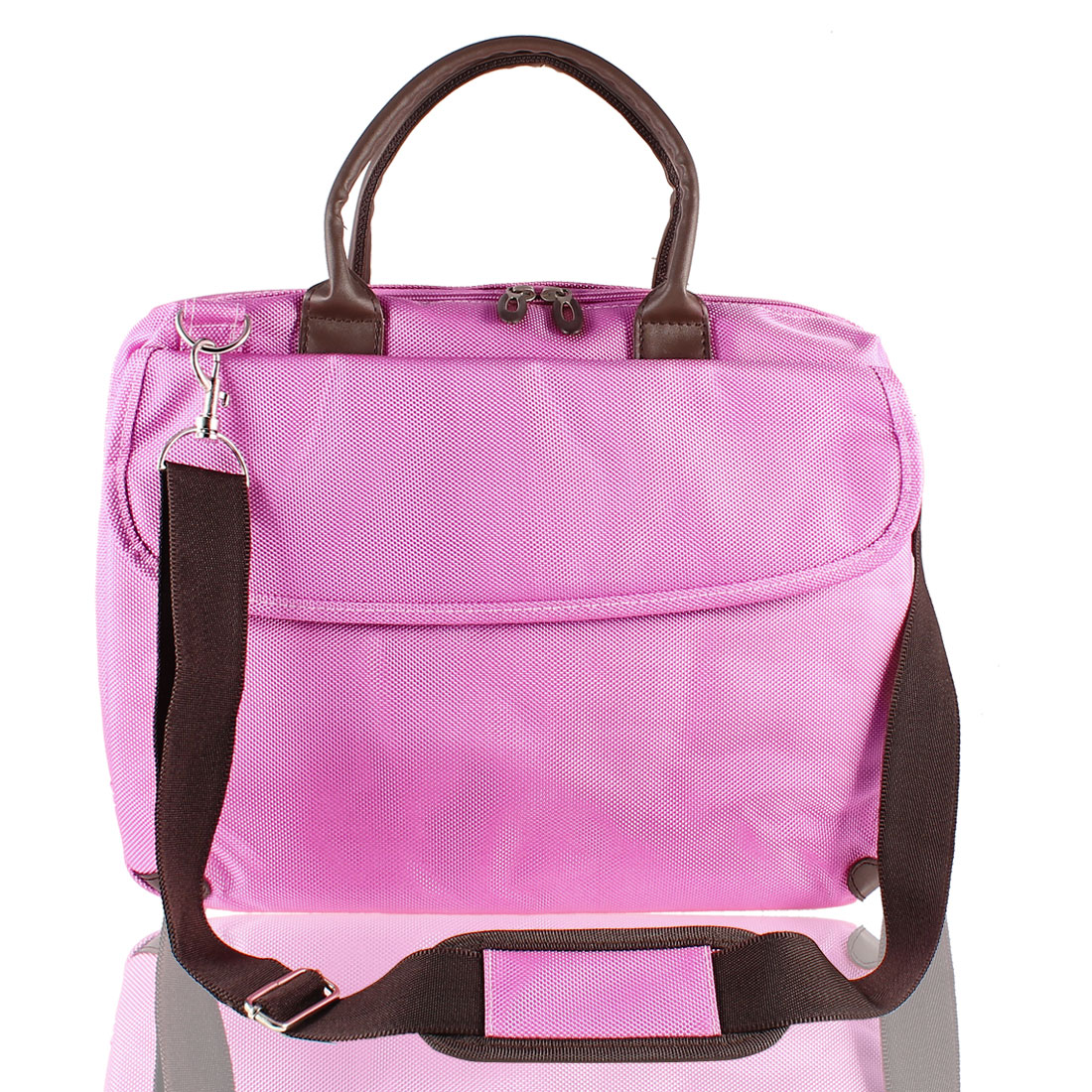 "Pink 14.4"" Notebook Handbag Carrying Shoulder Bag"