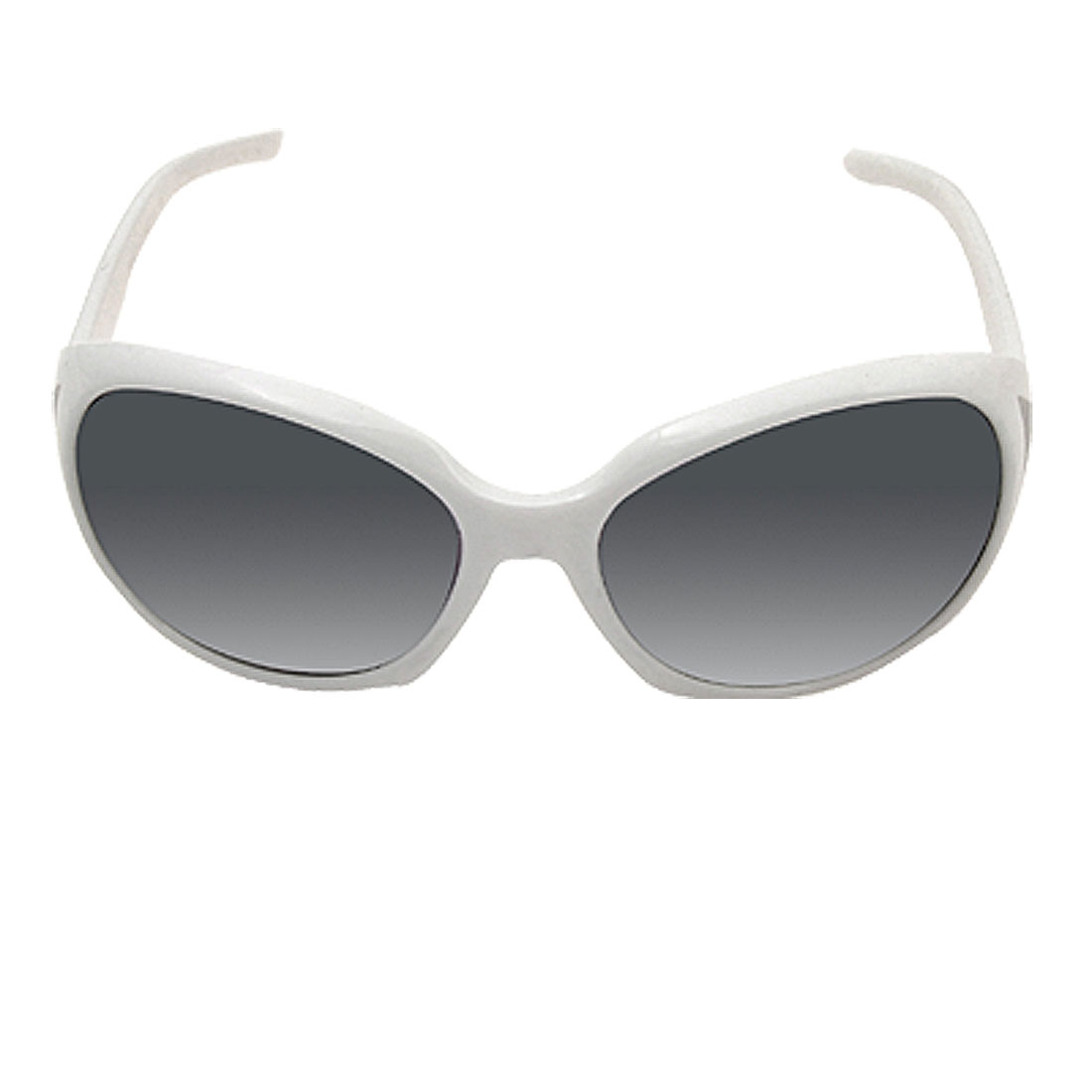 New Style Navy Gray Lens White Frame Fashion Ladies Sunglasses
