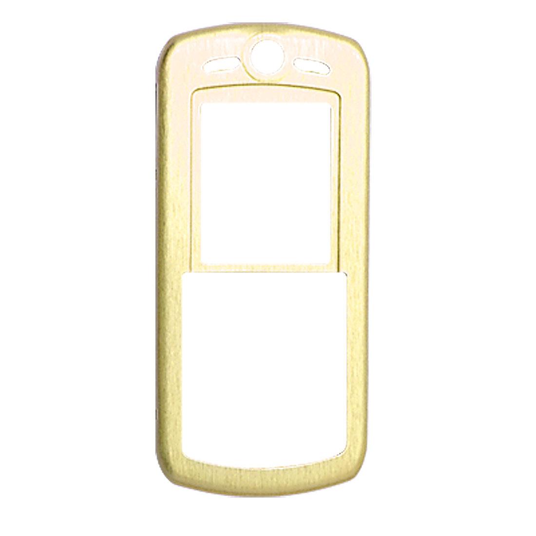 Slim Aluminum Metal Case Skin for Motorola L9 Golden