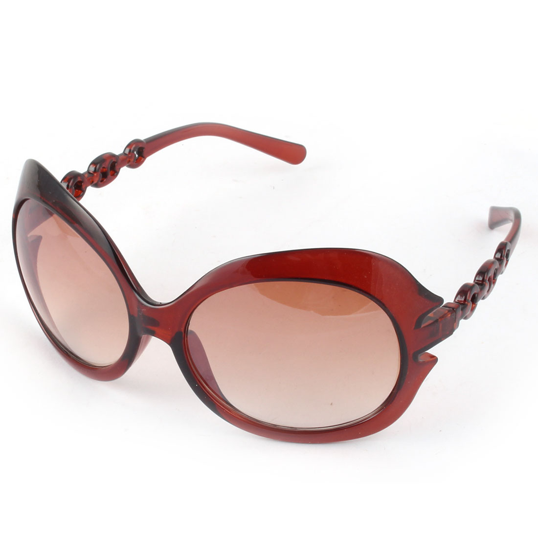 Latest Fashion Eyewear Sunglasses Womens Sun Glasses Brown