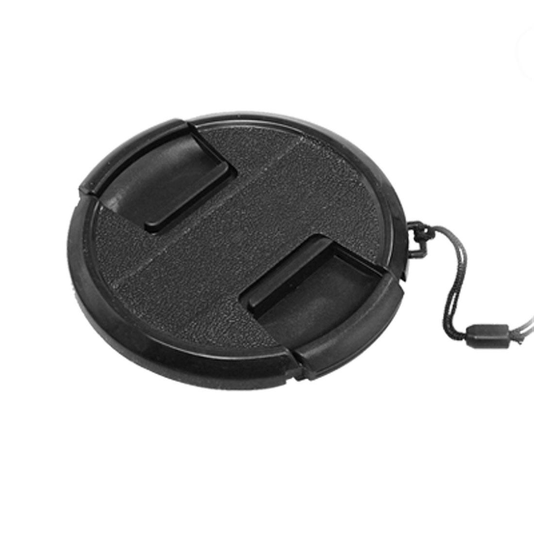 77mm Center Pinch Lens Cap Cover for SLR DSLR Camera