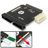 "Hard Drive IDE 2.5"" 44 Pin HDD to 3.5"" 40 Pin IDE Converter Laptop PC w/FPC Port"