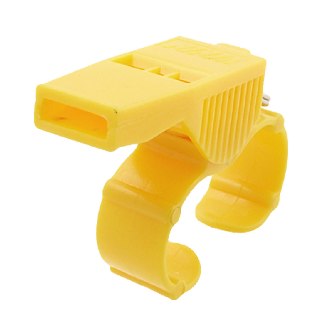 Referee Sports Yellow Plastic Finger Whistle