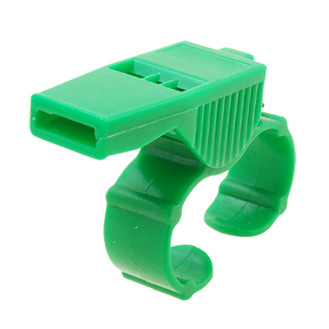 Green Plastic Sports Referee Finger Whistle