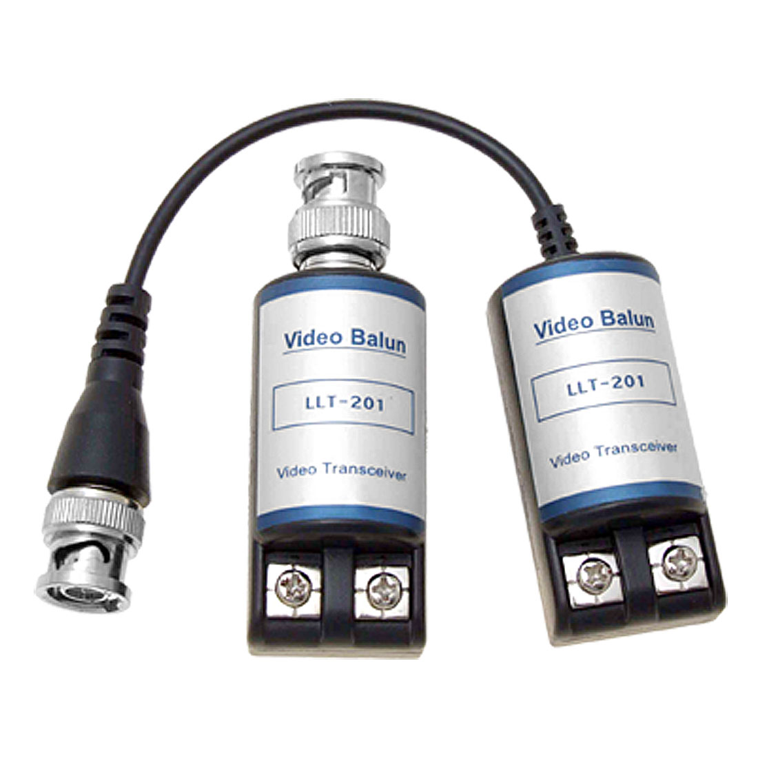 2 BNC Balun Video Coax UTP Transmission Kit for CCTV Camera