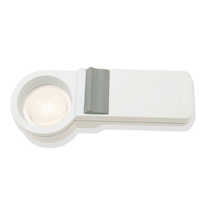 3X Light Illuminated Pocket Magnifier Magnifying Glass