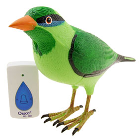 Wireless Lark Bird Remote Control Chime Doorbell