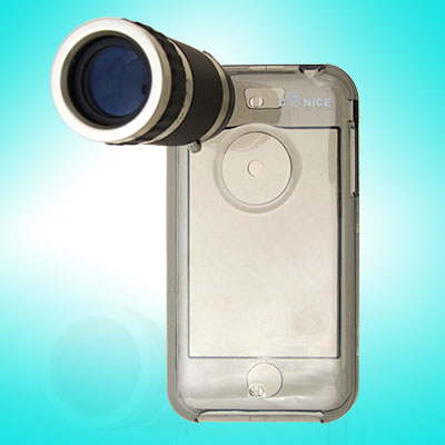 6X Zoom Telescope + Crystal Case for 1st Generation Camera