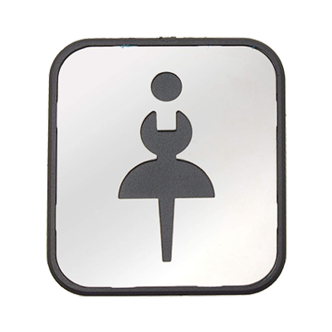 Stainless Steel Lady Washroom Instruction Board Architecture Hardware